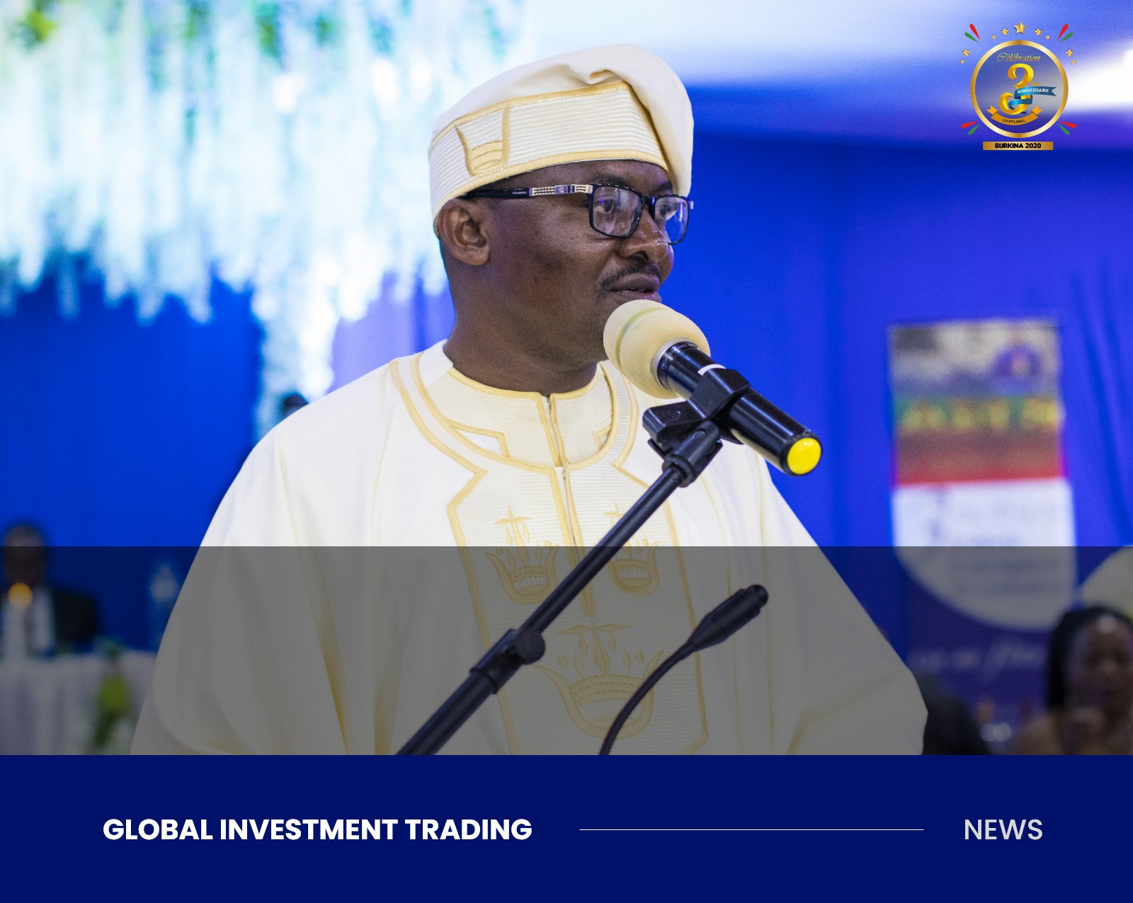 Speech of CEO - Global Investment Trading Mr Emile Parfait SIMB